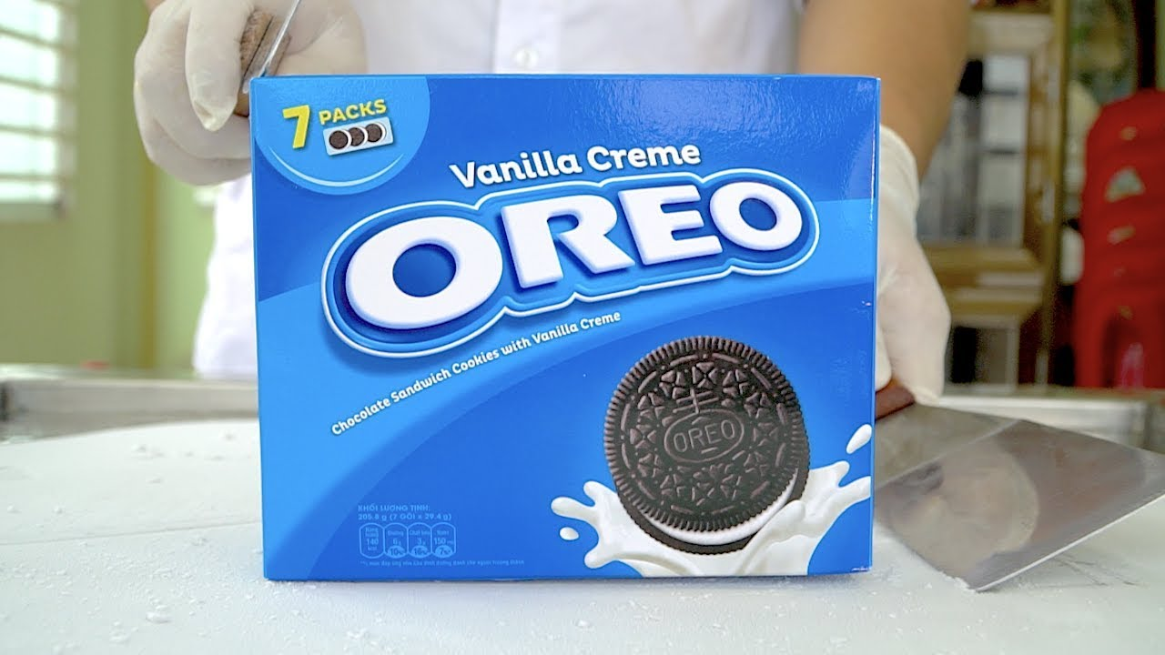 How to make OREO Ice Cream Rolls