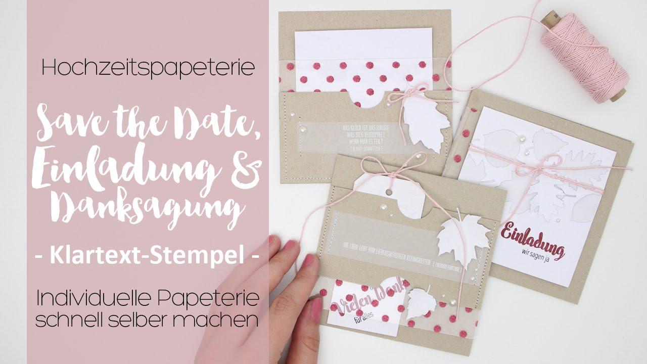 Hochzeitspapeterie Selber Machen Hochzeitswoche Danipeuss De