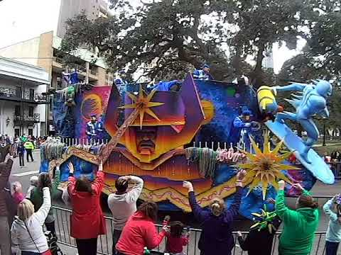 2018 Mobile Mystics Parade in Mobile (Alabama)