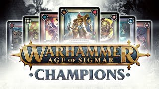 Warhammer Age of Sigmar: Champions Official Trailer