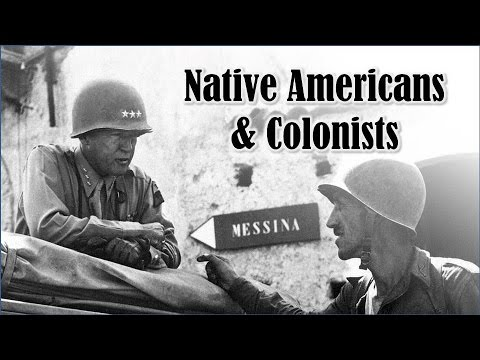 The Colonists, the Indians, and General Patton (APUSH Review) @TomRichey
