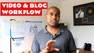 My Video Production and Blog Writing Workflow