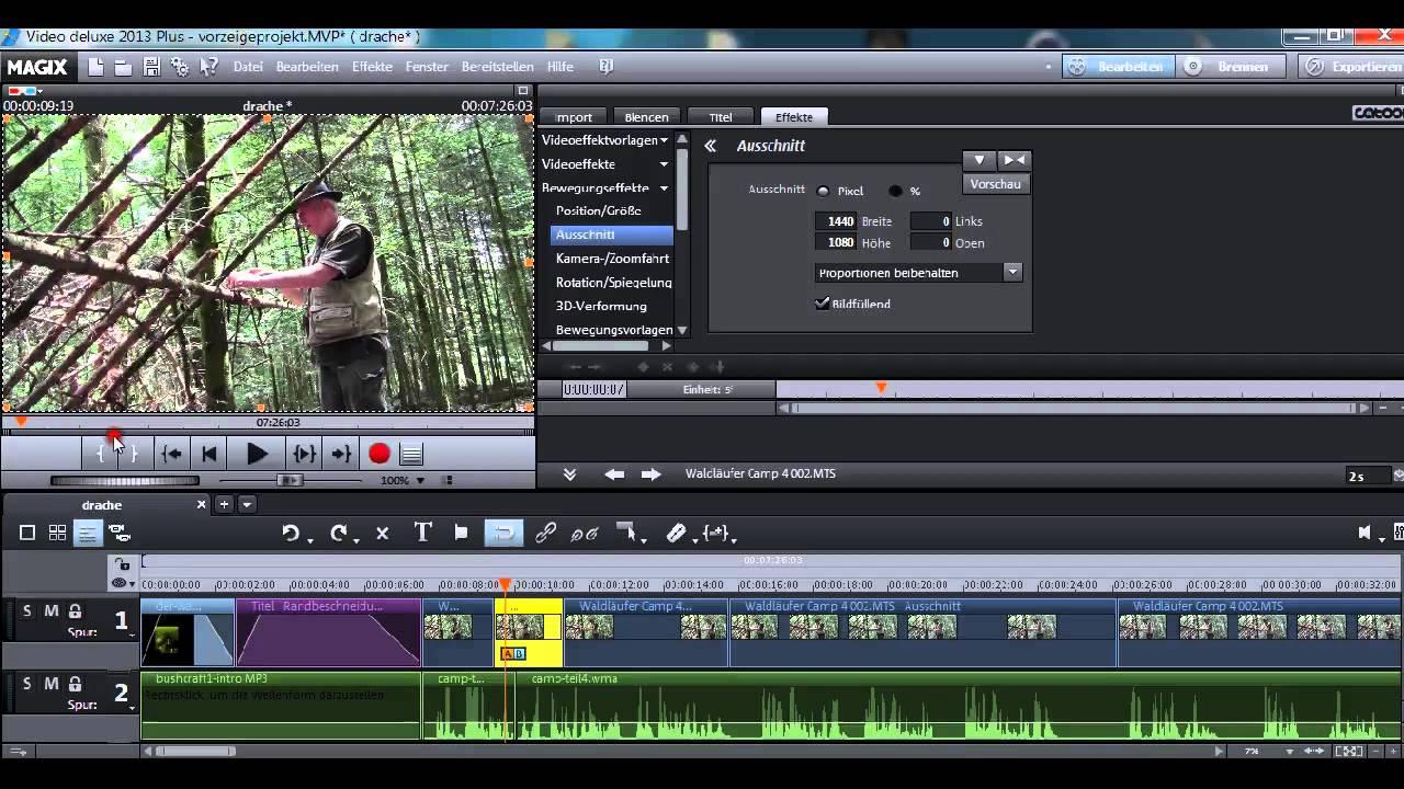 Musik aus video schneiden