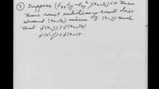 Lecture 26 - Maxima Minima