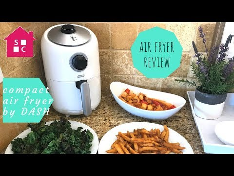 Healthier Fried Food! Why I'm Loving The Compact Air Fryer By Dash