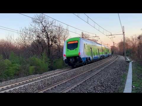 Nuovo Treno Caravaggio Per Trenord. [on Board, Manovre E Transiti]