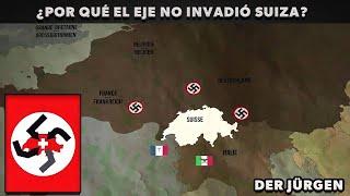 ¿Por qué Alemania e Italia no invadieron Suiza?