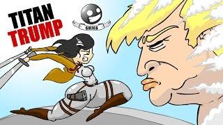 TITAN TRUMP / Shingeki no kiojin parodia / SUJES