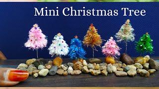 How To Make Christmas tree| DIY Mini Christmas Trees| Christmas Crafts| Christmas Decoration ideas.