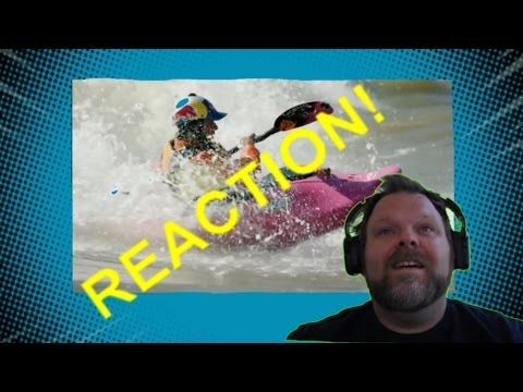 Red Bull 5 Freestyle Kayaking Tricks with Dane Jackson Reaction