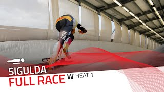Sigulda | BMW IBSF World Cup 2020/2021 - Women's Skeleton Heat 1 | IBSF Official