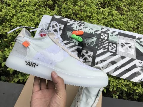 Off White X Nike Air Force 1 Low Unboxing HD Review From ajking.ru