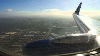 Anadolu Jet B737-700 Landing to Konya Airport HD