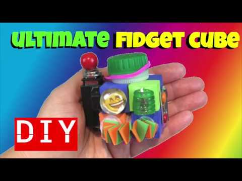 NEW!! ULTIMATE DIY FIDGET TOYS- DIY FIDGET CUBE- DIY TOYS FOR SCHOOL- DIY EMOJI CRAFTS FOR KIDS