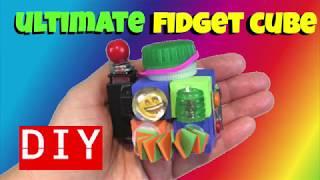 NEW!! ULTIMATE DIY FIDGET TOYS- DIY FIDGET CUBE- DIY TOYS FOR SCHOOL- DIY EMOJI CRAFTS FOR KIDS