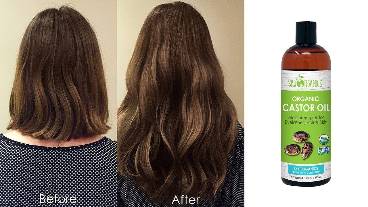 Best Organic Castor Oil for Hair Growth - YouTube
