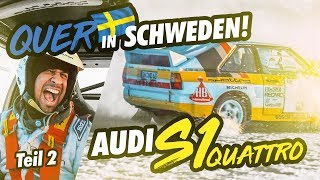 JP Performance - Audi S1 quattro | Drift in Sweden! | Part 2