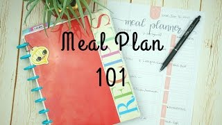 Meal Planning 101 / How to Meal Plan for beginners