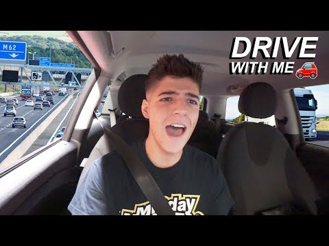 DRIVE WITH ME (first time on the mOtoRwAy) i stalled 238 times!1