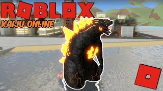 Roblox Kaiju Online - The Rise Of Fire Godzilla! (The King Of The Monsters!)