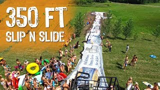 Worlds Biggest Slip N' Slide?