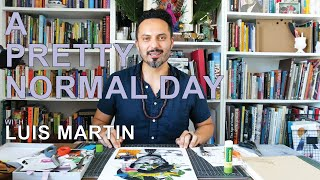 A Pretty Normal Day with Collage Artist Luis Martin