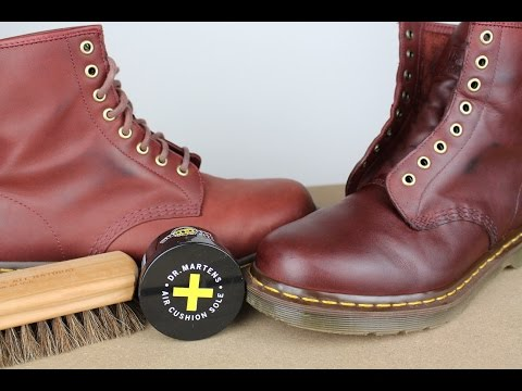 "DR MARTENS ""For Life"" Oxblood *1 MONTH REVIEW* Cleaning, Conditioning, Breaking In *1 MONTH REVIEW*"