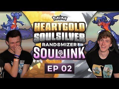 DRAGON RAGE CATASTROPHE!!!   Pokemon Heart Gold and Soul Silver Soul Link Randomized Nuzlocke EP 2