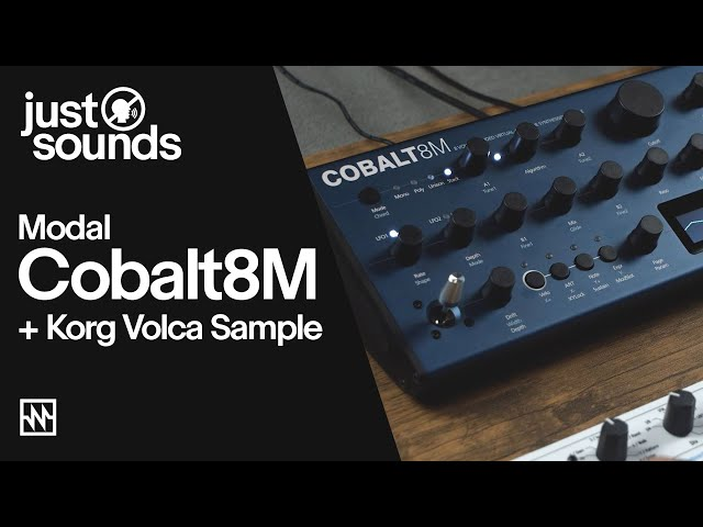 Just Sounds: Modal Cobalt8M Virtual-Analogue Synth + Korg Volca Sample