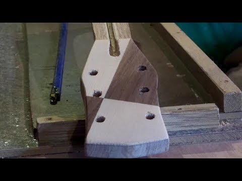 Making  Acoustic Guitar Neck From SCRAP Wood Part 2