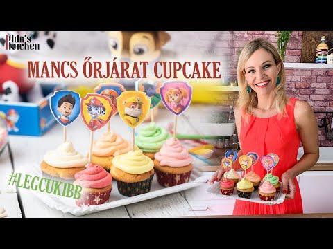 Adri's Kitchen: Mancs Őrjárat ihlette cupcake