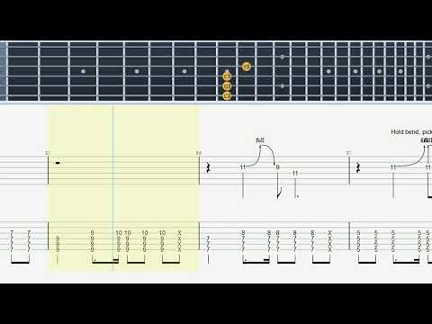 Gimme Shelter (Rolling Stones) - Guitar Tab & Lesson - YouTube