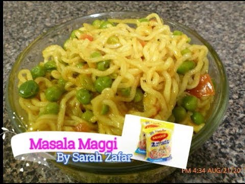 Maggi Masala Noodles (Street food/Snack of India)