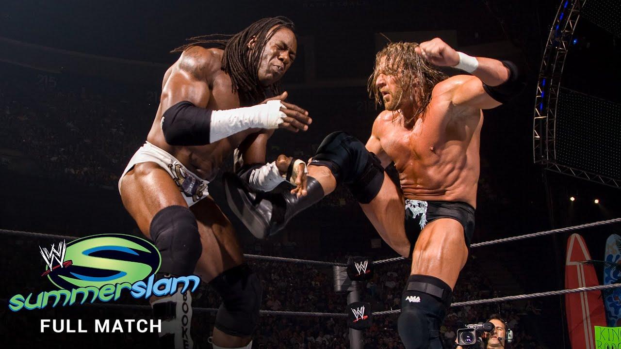 FULL MATCH - Triple H vs. King Booker: SummerSlam 2007