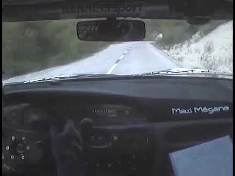 Rally Catalunya   Renault Megane Maxi   Piloto Oriol Gómez copiloto Oriol Julia (PARTE 1)