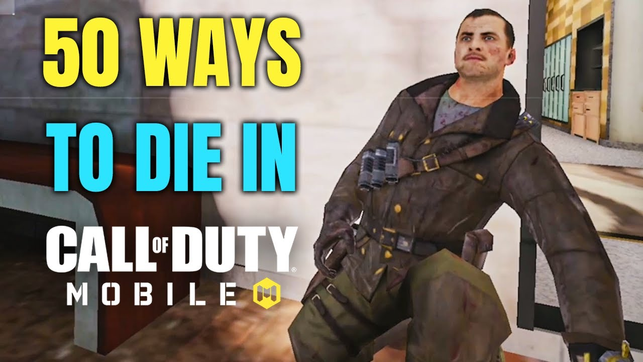 50 Ways to Die in Call of Duty Mobile thumbnail