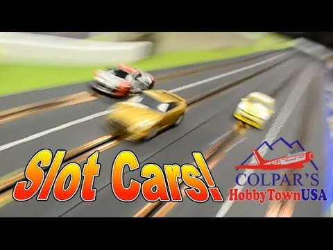 Slot Car Racing at Colpar HobbyTown USA