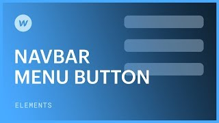 Hamburger menu in the responsive navigation bar - Web design tutorial