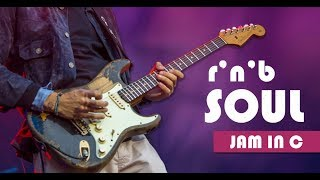 Soul/RnB Slow Guitar Backing Track Jam in C major