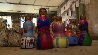 Mumbai slumb holds art biennal