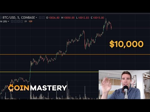 Bitcoin Breaks $10k (Again)! WAX Exchange Arbitrage, Altcoin
