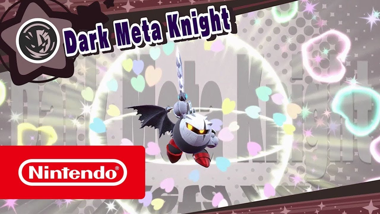 Kirby Star Allies DLC - Dark Meta Knight (Nintendo Switch)