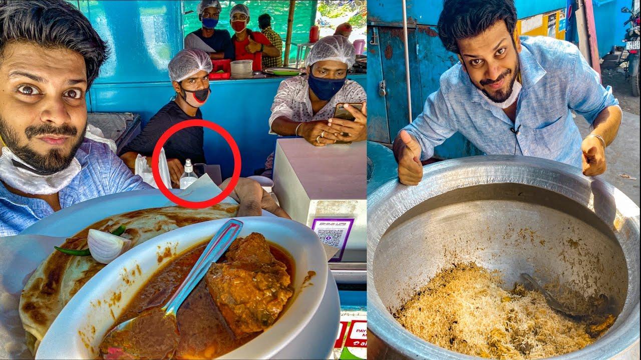 Found a SANITIZED kolkata street food shop😍🔥 | TheLazyBong