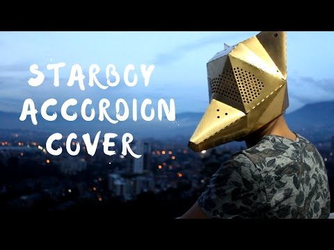 Starboy - The Weeknd ft Daft Punk Mulett Accordion Cover