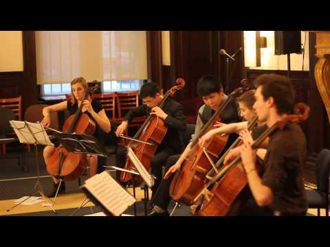 [Live] Jai Ho from Slumdog Millionaire for 5 Cellos - String Theory