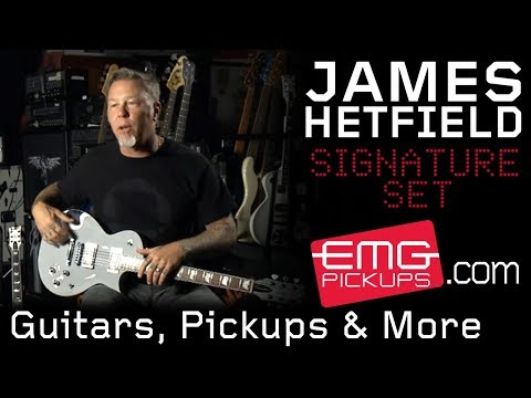 James Hetfield Talks With EMGtv About Guitars, Pickups And More