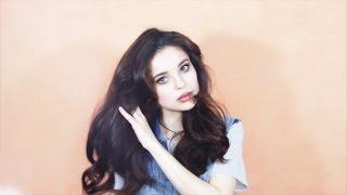 видео Как сделать объемную прическу на длинные волосы