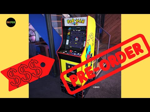 Arcade1up Bandai Namco Legacy cabinet price revealed!! from 19kfox