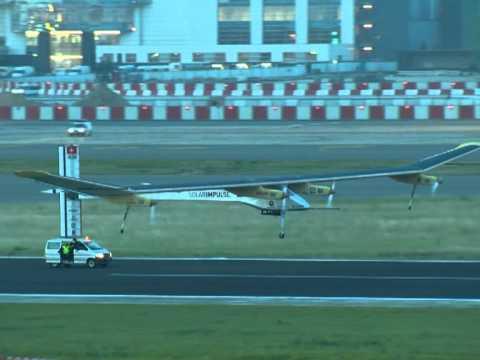 L'avion solaire belge Solar Impulse a décollé vers Paris