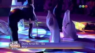 Diana Amarilla es Sia - Tu Cara Me Suena